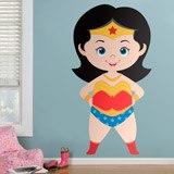 Kinderzimmer Wandtattoo: Wonderwoman 3