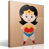 Kinderzimmer Wandtattoo: Wonderwoman 4