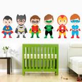 Kinderzimmer Wandtattoo: Kit Helden stehen 3