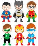 Kinderzimmer Wandtattoo: Kit Helden stehen 5