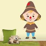 Kinderzimmer Wandtattoo: Vogelscheuche Zauberer von Oz 3