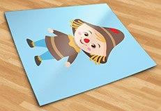 Kinderzimmer Wandtattoo: Vogelscheuche Zauberer von Oz 5