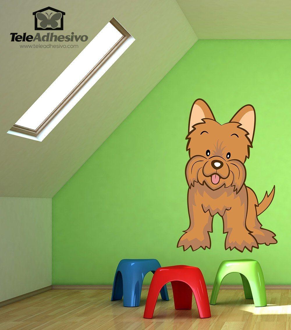 Kinderzimmer Wandtattoo: Toto Zauberer von Oz