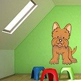 Kinderzimmer Wandtattoo: Toto Zauberer von Oz  3