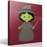 Kinderzimmer Wandtattoo: Hexe Zauberer von Oz 4