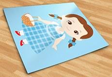 Kinderzimmer Wandtattoo: Dorothy Zauberer von Oz Warenkorb 5