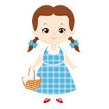 Kinderzimmer Wandtattoo: Dorothy Zauberer von Oz Warenkorb 6