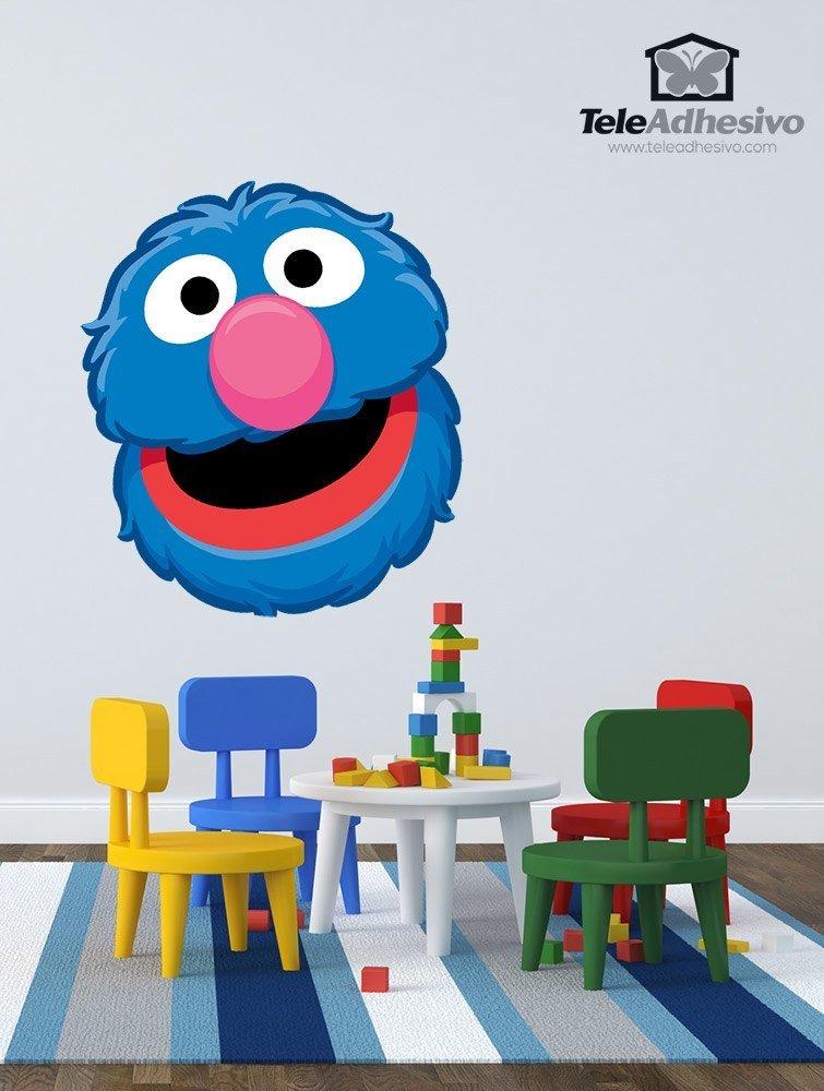 Kinderzimmer Wandtattoo: Grobi