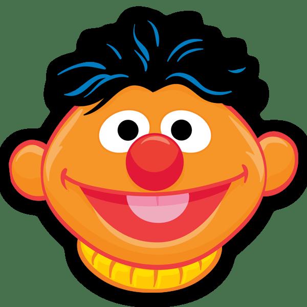 Kinderzimmer Wandtattoo: Ernie