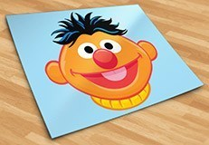 Kinderzimmer Wandtattoo: Ernie 5