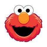 Kinderzimmer Wandtattoo: Gesicht Elmo 6
