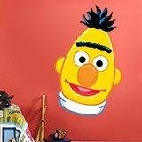 Kinderzimmer Wandtattoo: Gesicht Bert 1