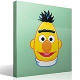 Kinderzimmer Wandtattoo: Gesicht Bert 2