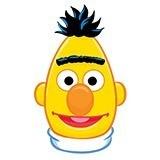 Kinderzimmer Wandtattoo: Gesicht Bert 4