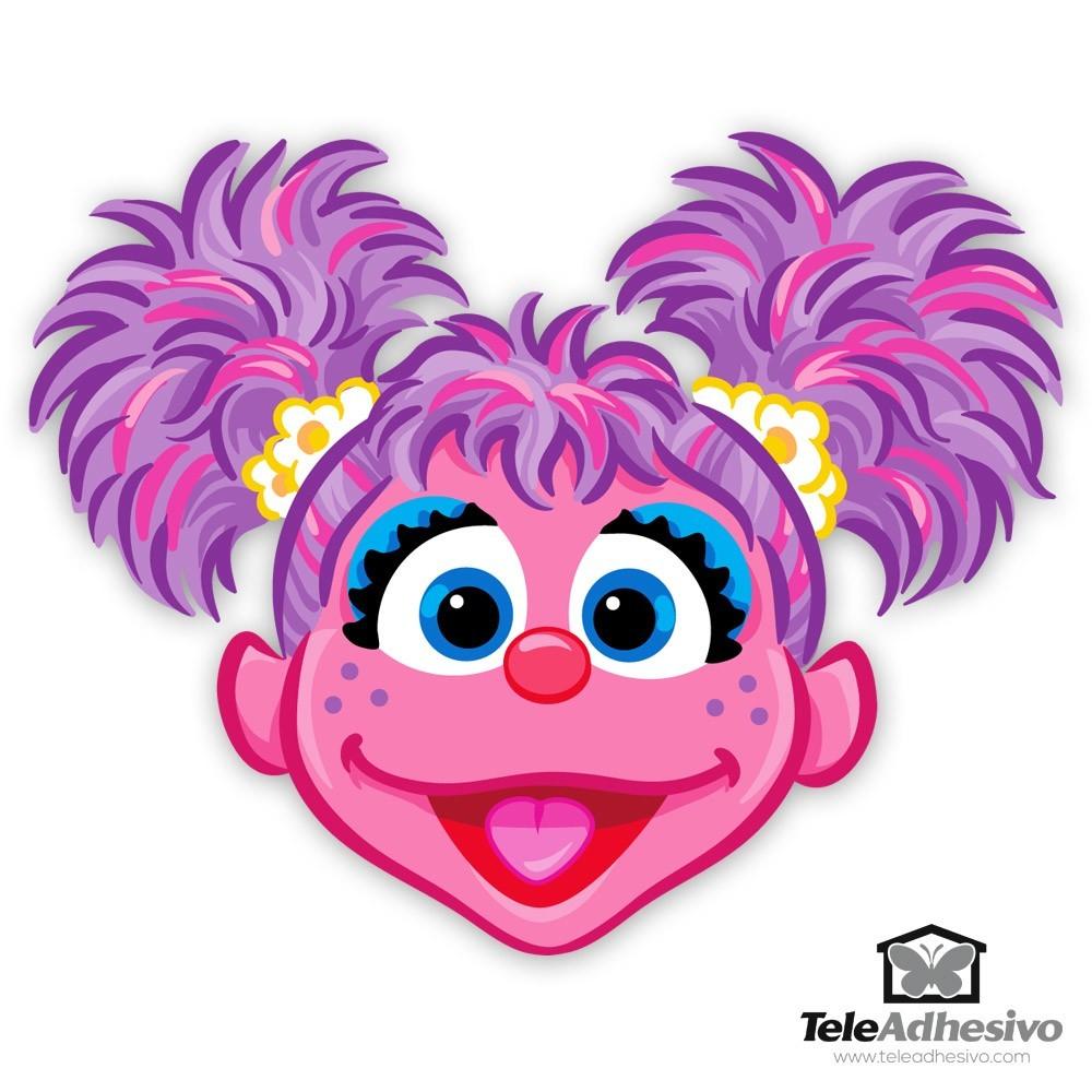 Kinderzimmer Wandtattoo: Gesicht Abby