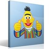 Kinderzimmer Wandtattoo: Glücklich Bert 4