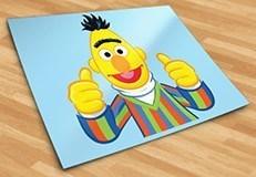 Kinderzimmer Wandtattoo: Glücklich Bert 5