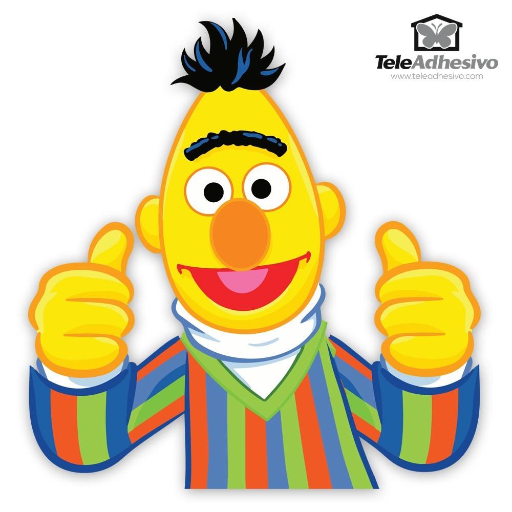 Kinderzimmer Wandtattoo: Glücklich Bert