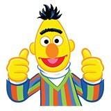 Kinderzimmer Wandtattoo: Glücklich Bert 6