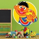 Kinderzimmer Wandtattoo: Ernie mit Ente 3