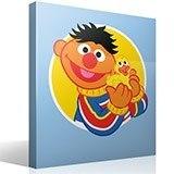 Kinderzimmer Wandtattoo: Ernie mit Ente 4