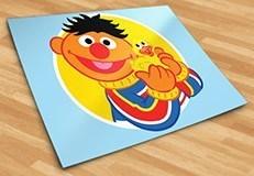 Kinderzimmer Wandtattoo: Ernie mit Ente 5