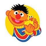 Kinderzimmer Wandtattoo: Ernie mit Ente 6