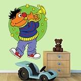 Kinderzimmer Wandtattoo: Ernie Trompete 1