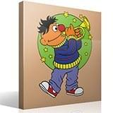 Kinderzimmer Wandtattoo: Ernie Trompete 2
