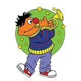 Kinderzimmer Wandtattoo: Ernie Trompete 4