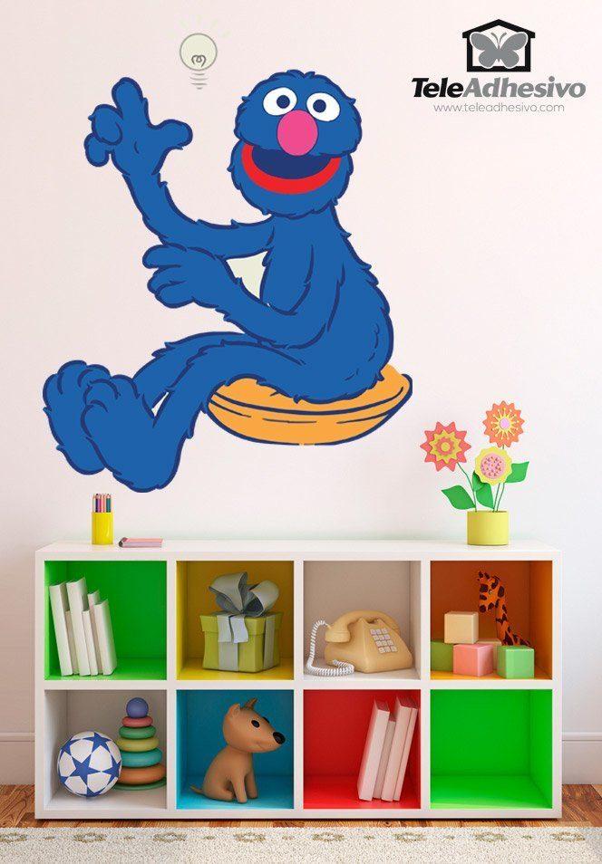 Kinderzimmer Wandtattoo: Grobi Vorstellung
