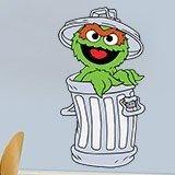 Kinderzimmer Wandtattoo: Oscar the Grouch Müll 3