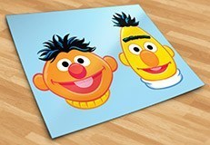 Kinderzimmer Wandtattoo: Ernie and Bert 5