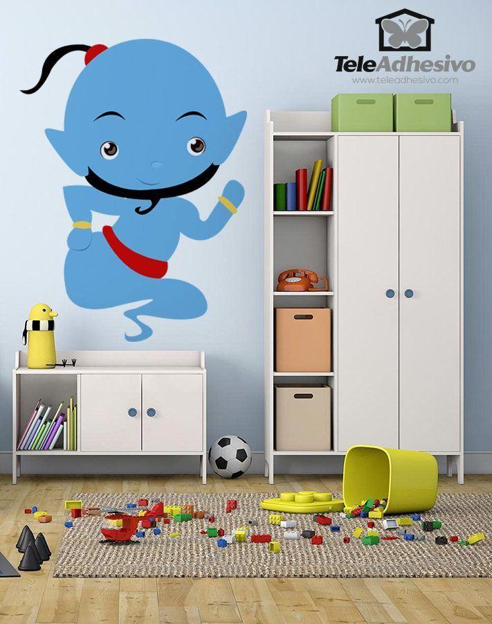 Kinderzimmer Wandtattoo: Genie