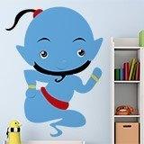 Kinderzimmer Wandtattoo: Genie 3