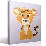 Kinderzimmer Wandtattoo: Tiger Aladdin 4
