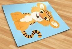 Kinderzimmer Wandtattoo: Tiger Aladdin 5