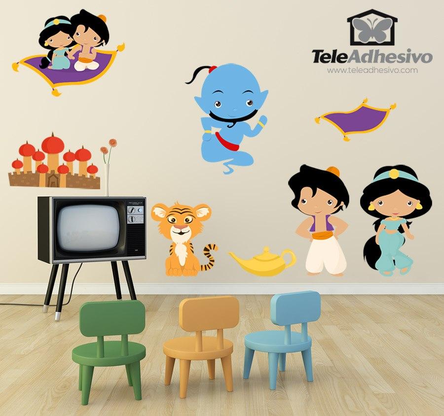 Kinderzimmer Wandtattoo: Kit Aladdín