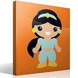 Kinderzimmer Wandtattoo: Prinzessin Jasmin 4