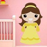 Kinderzimmer Wandtattoo: Die Schöne 1