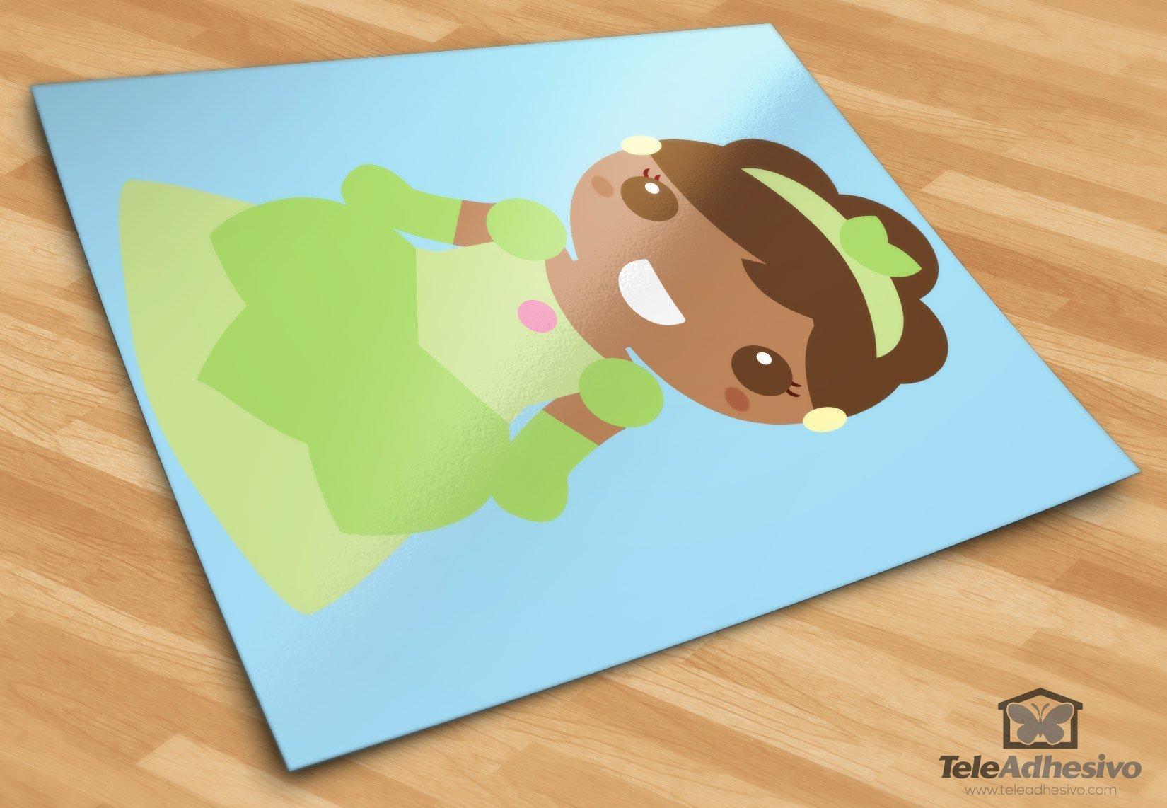 Kinderzimmer Wandtattoo: Tiana
