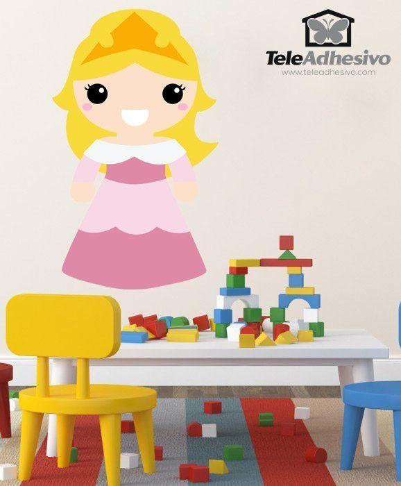 Kinderzimmer Wandtattoo: Dornröschen