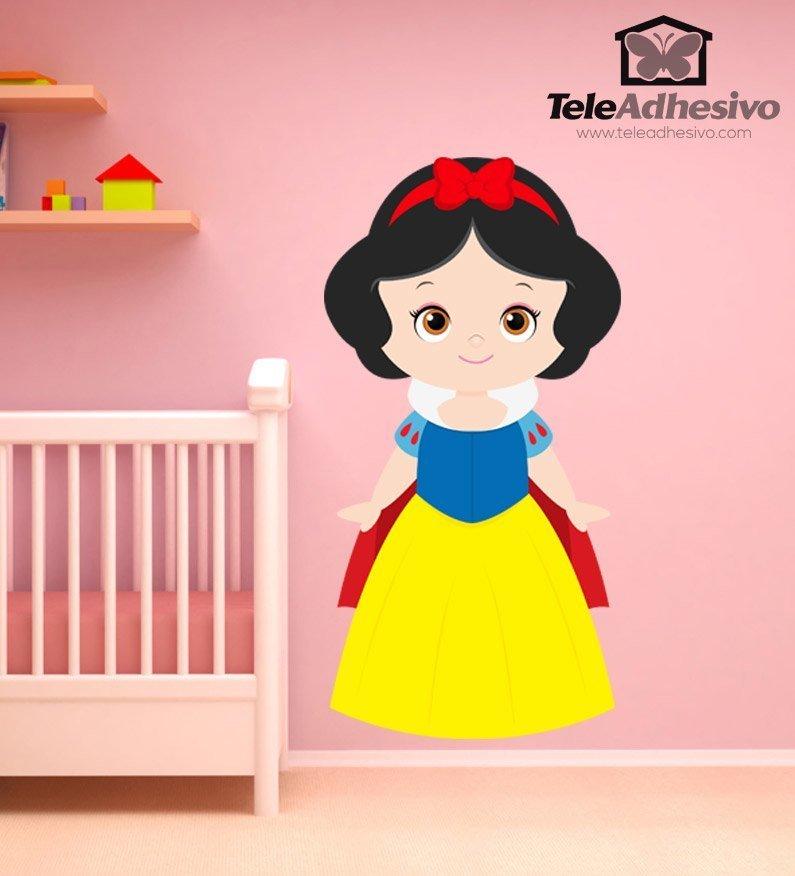 Kinderzimmer Wandtattoo: Schneewittchen und die sieben Zwerge