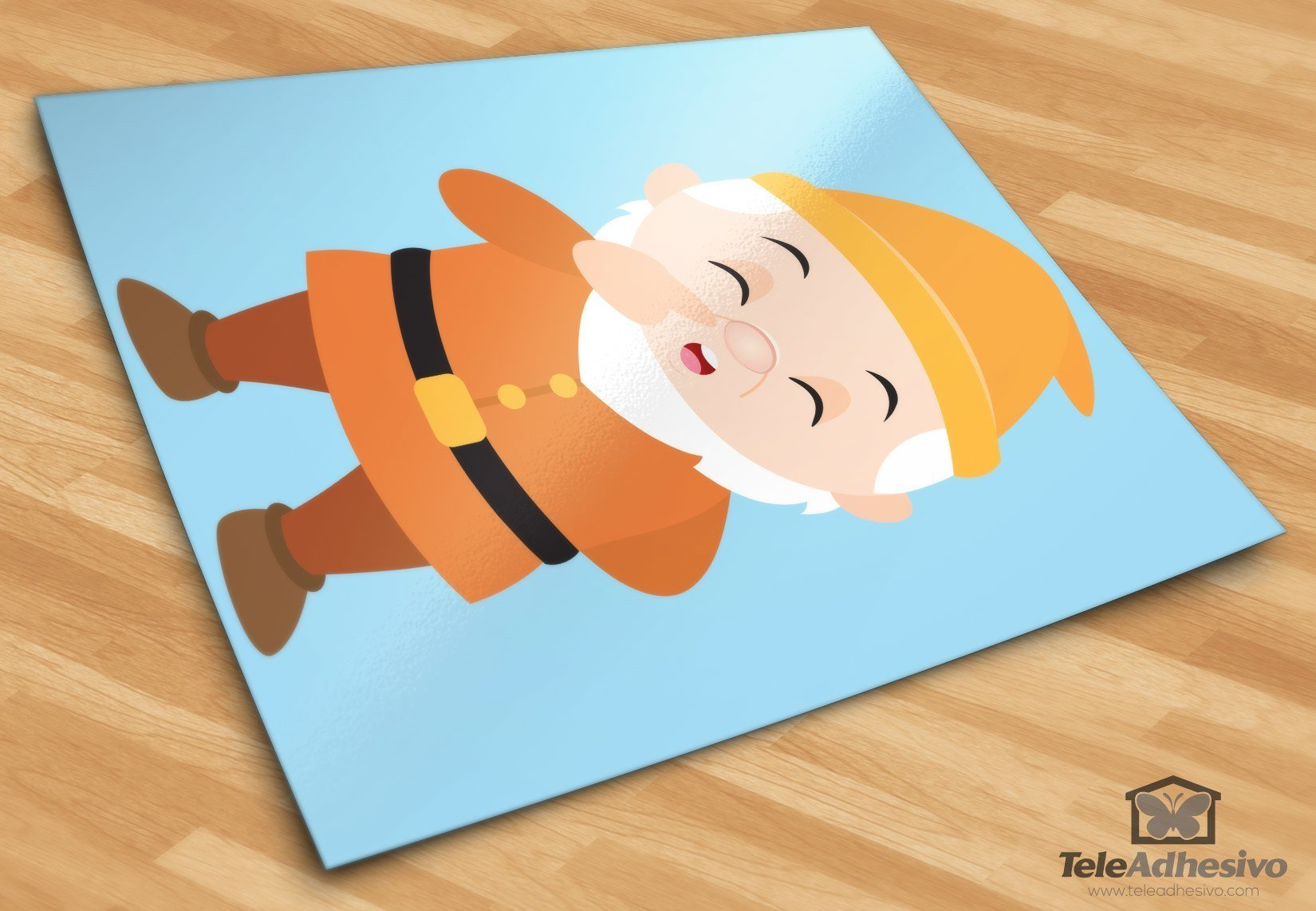 Kinderzimmer Wandtattoo: Zwerge Sneezy