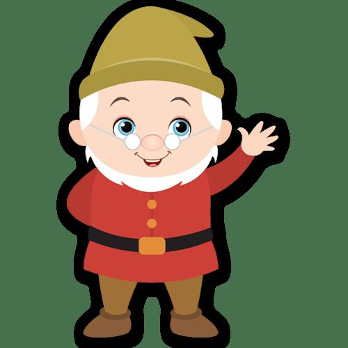 Kinderzimmer Wandtattoo: Weise Zwerge