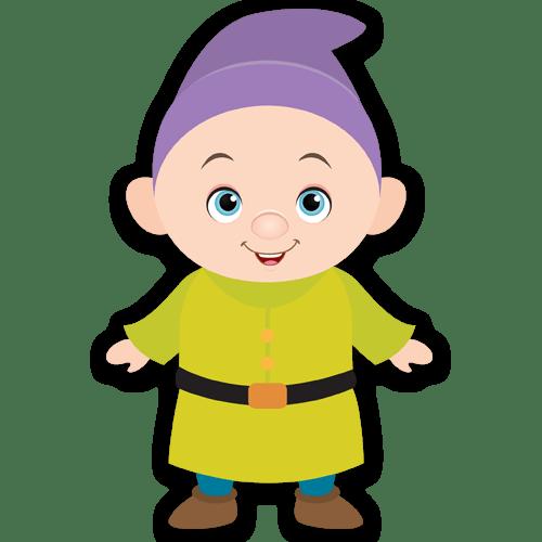 Kinderzimmer Wandtattoo: Stumm Zwerge