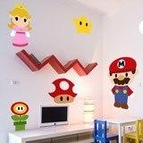 Kinderzimmer Wandtattoo: Kit Mario Bros 3