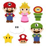 Kinderzimmer Wandtattoo: Kit Mario Bros 6