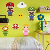 Kinderzimmer Wandtattoo: Kit Mario Bros 7