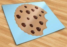 Kinderzimmer Wandtattoo: Cookie 5